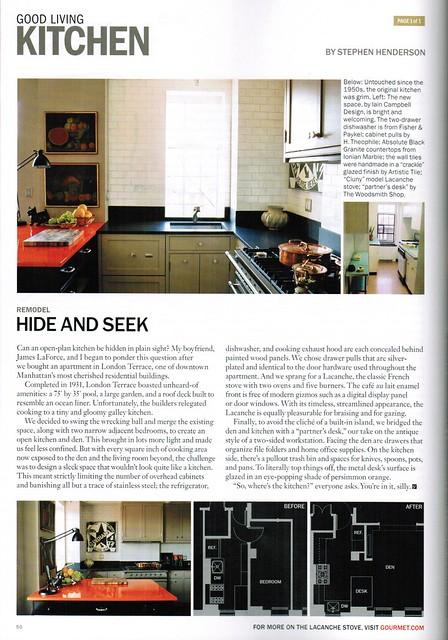Gourmet April 2009 #1