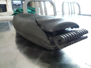 grr.. lumbar pad from my aeron chair is borked.