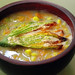 Squash Blossom and Corn Soup
