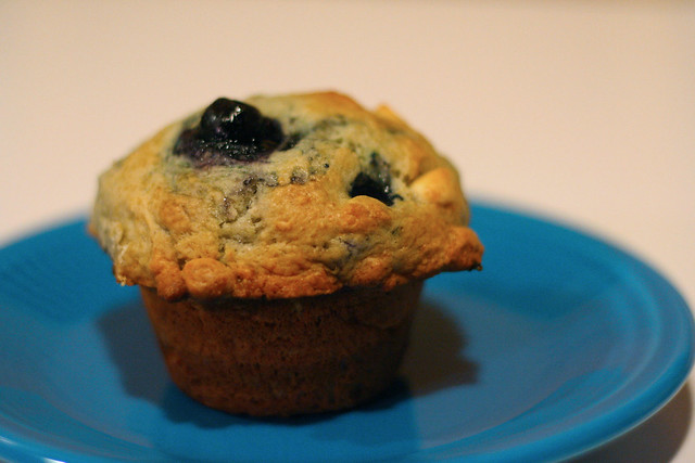 Giant Blueberry White Chocolate Chip Muffins | Flickr - Photo Sharing!