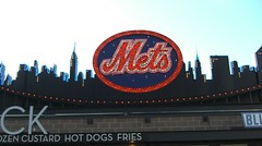 New York Mets - NY Skyline at CitiField