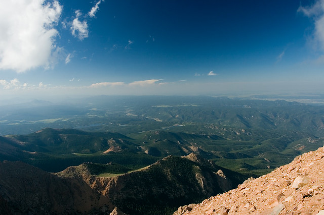 Pikes Peak View North | This is the view on the north side ...