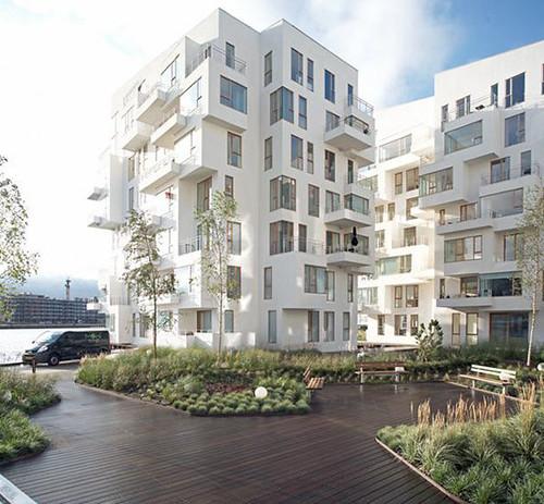 Minimalist Apartment Building