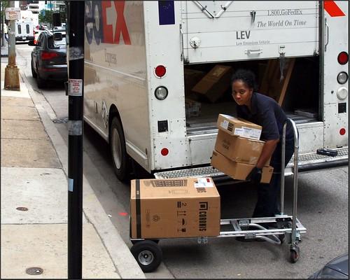 FedEx gets parking tickets