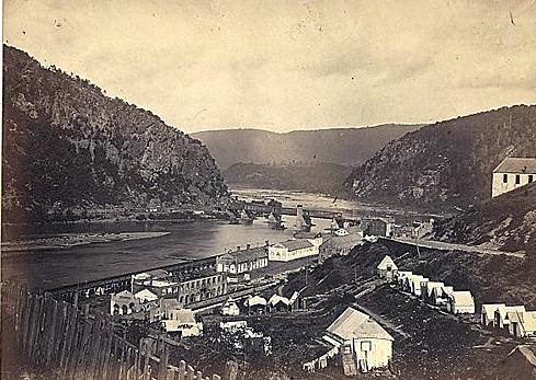 Harpers Ferry, VA - Then