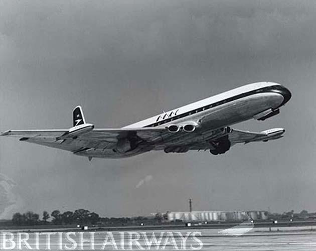 1950s - BOAC De Havilland Comet 4