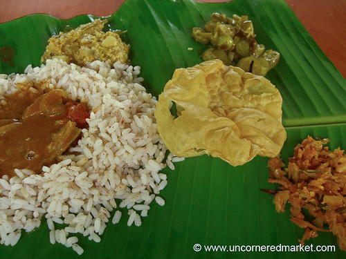 South indian food plate for Athidhi indian cuisine