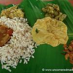 Lunch in Kerala's Backwaters - Kerala Backwaters, India