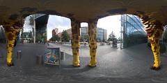 under the giraff