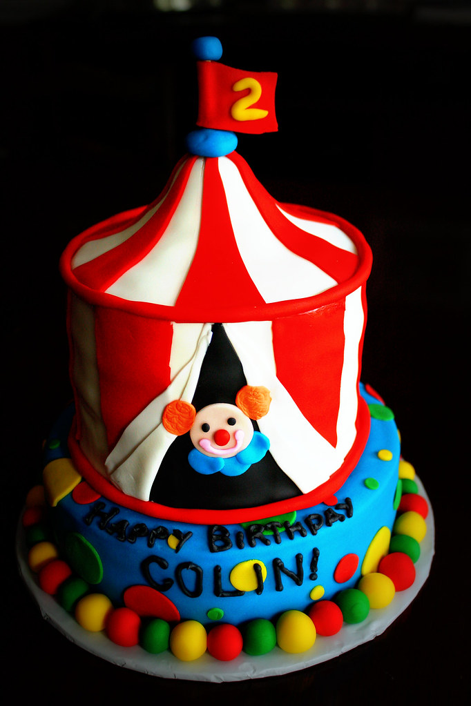 Circus Tent Cake | by buttercakes_by_evan Circus Tent Cake | by buttercakes_by_evan & Circus Tent Cake | Colin wanted a circus tent cake for his 2u2026 | Flickr