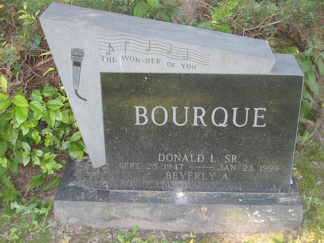 Header of Bourque