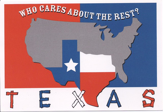 Texas sign who cares about the rest