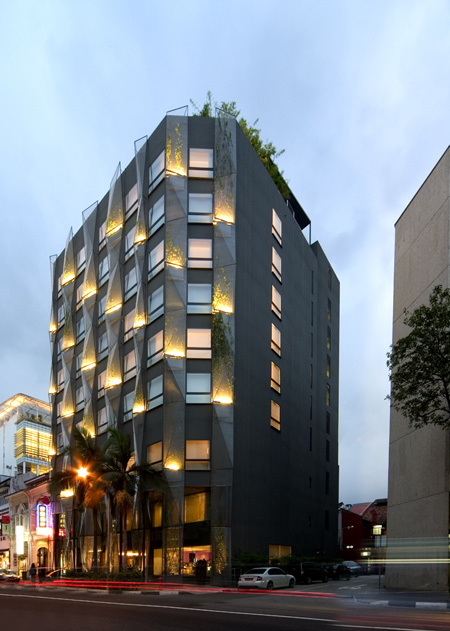 Naumi hotel modern hotel in singapore live home decor for Moderne hotels