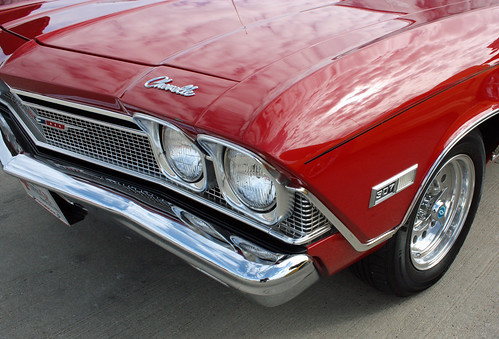 1968 Chevrolet Chevelle Concours 2-Door Sport Coupe (4 of 10)