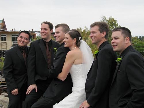 wedding groomsman