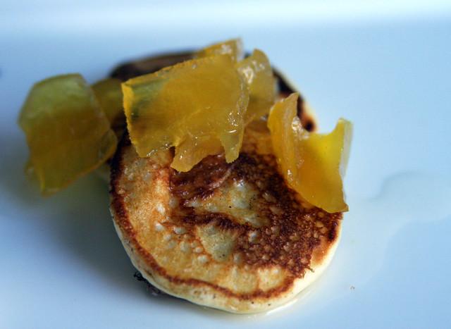 Silver Dollar Pancakes with Green Papaya | The Harvest Brunc ...