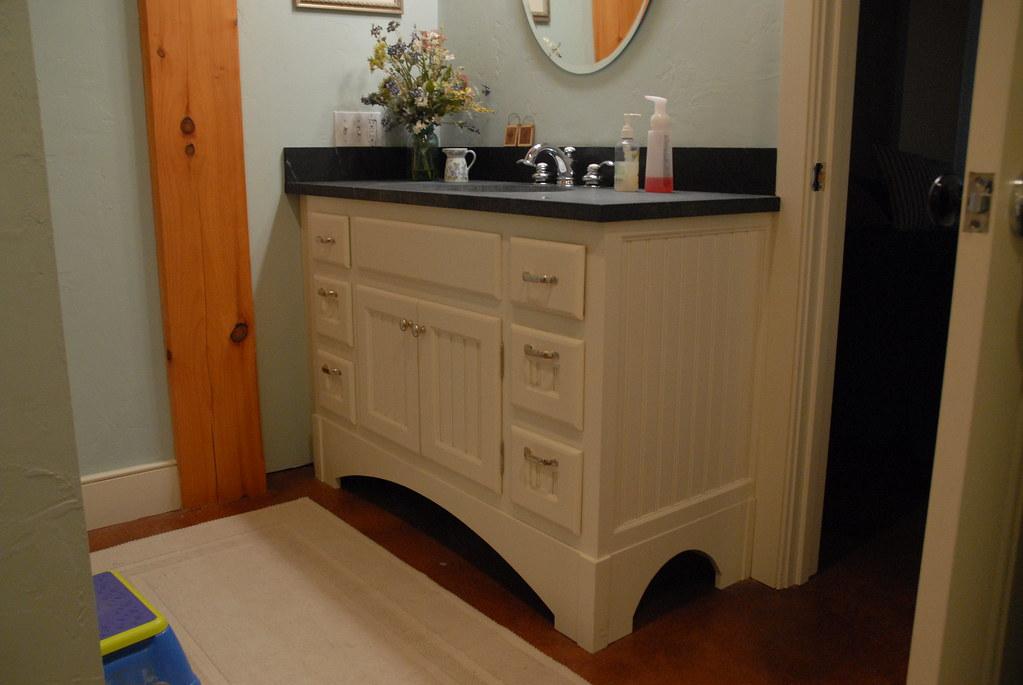 Bathroom Vanity Paint Grade Beadboard Vanity With Soapston Flickr