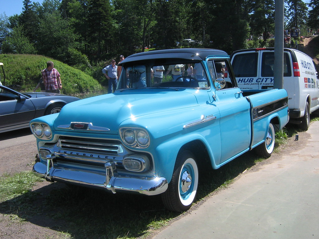 4069885056on 1956 Chevy Cameo Pickup Truck