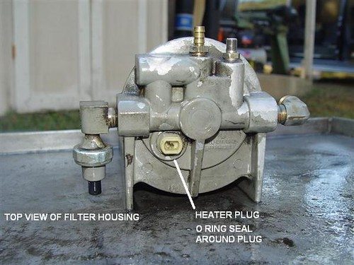 Filter Housing  Fuel Filter Housing 7 3 Idi