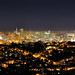San Francisco at Night from Diamond Heights