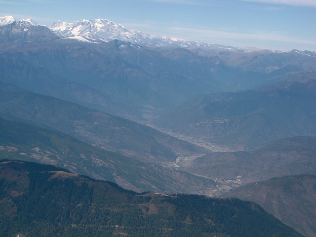 Approaching Paro Valley
