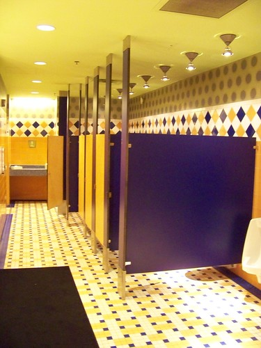 Pop Century Classic Hall restroom