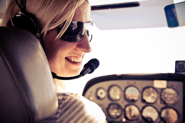 i flew a plane.