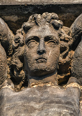 Statue detail - Burslem Town Hall