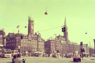 //25/50/68/1.f - COPENHAGEN TOWN HALL SQUARE, DENMARK 1987