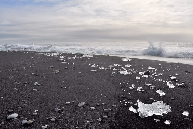 Lago Jökulsárlón, Islandia