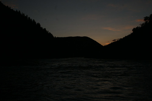 camping sunset mountains colorado rafting uppercoloradoriver