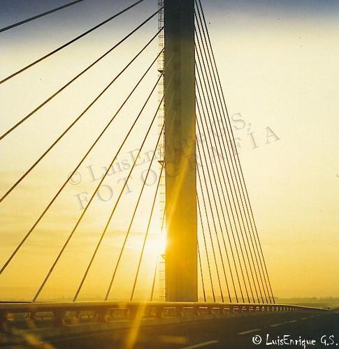 sunset méxico veracruz coatzacoalcos puentecoatzacoalcosii kodakretinaiareflexmadegermany