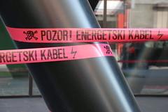 POZOR! ENERGETSKI KABEL