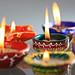 Diwali Lamps by A.N.U.J