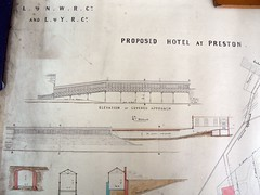 Preston Station footbridge plans to Park Hotel (image 3 of 4) by Preston Digital Archive