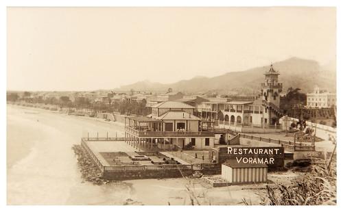 Foto del Hotel Voramar en 1930