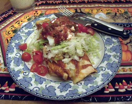 Make Ahead Cottage Cheese Enchiladas