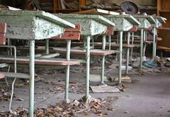 School classroom, Chernobyl
