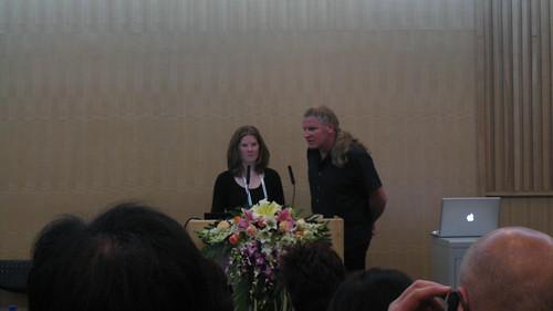 sophie presenting at icograda WDC