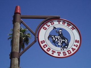 Old Scottsdale Sign