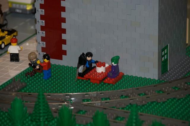 Lego Batman and Lego Joker eat Lego fried chicken | Flickr - Photo ...