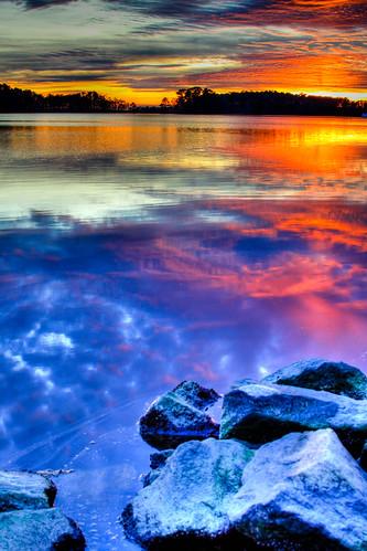 sunset reflection abigfave blackwaterrefuge