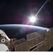 Sun Over Earth (NASA, International Space Station Science, 11/22/09)