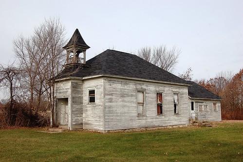 school wisconsin schoolhouse us12 juneaucounty