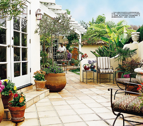 Home garden big ideas for small home gardens design 8 for Mediterranean garden design
