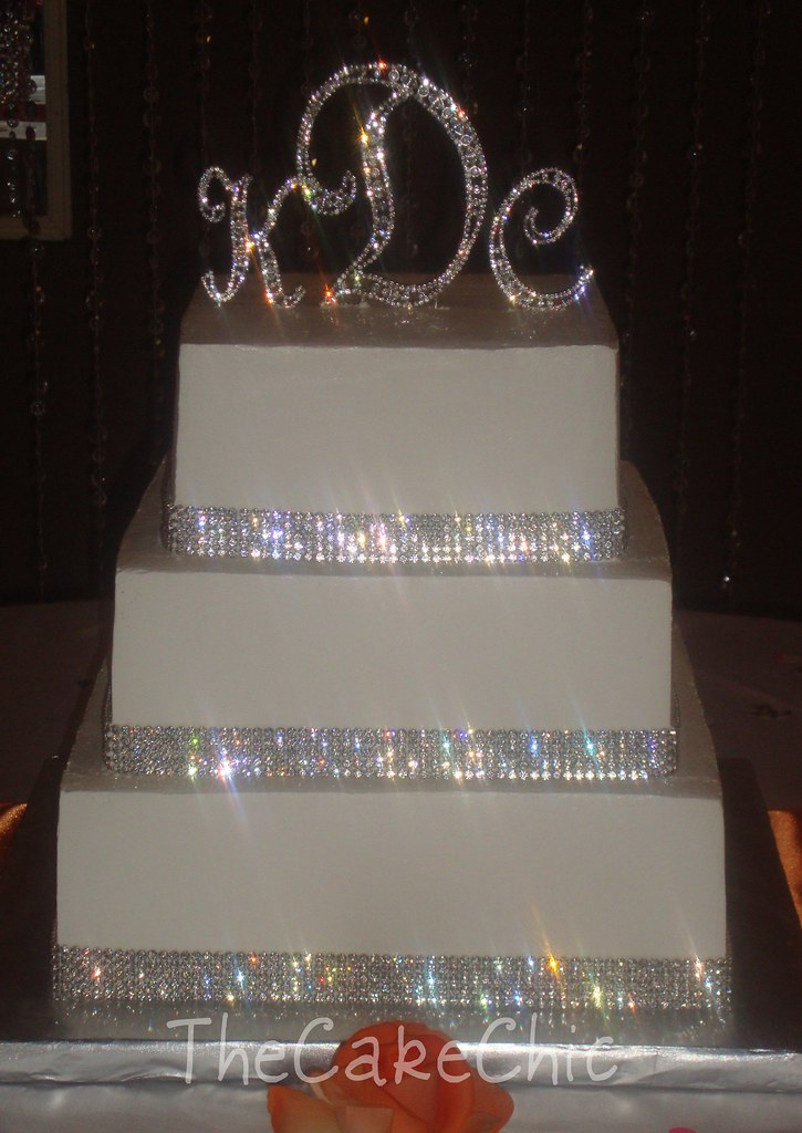 rhinestone wedding cakes rhinestone wedding cake a photo on flickriver 19208