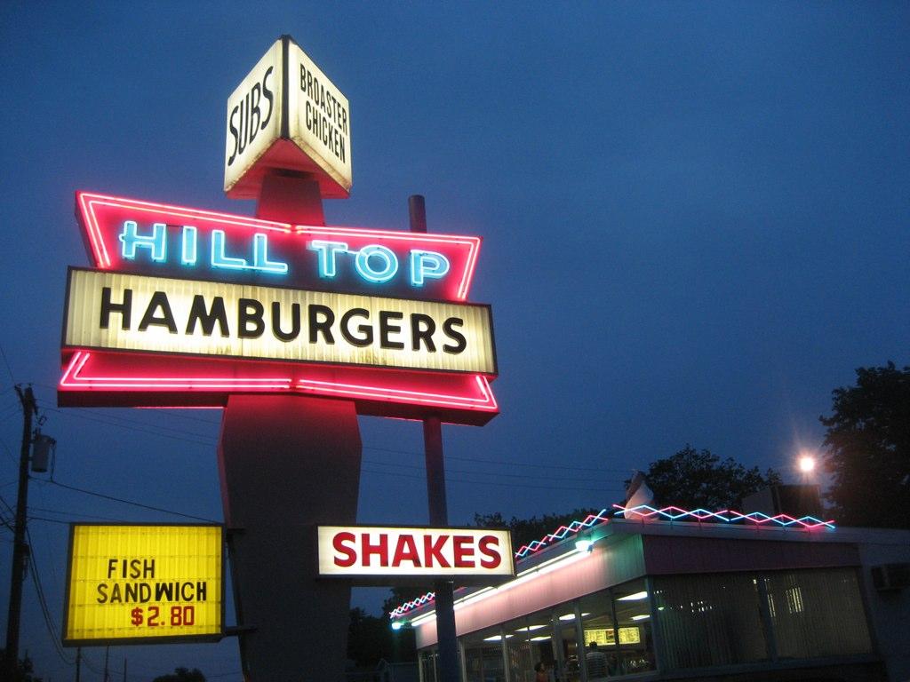 Hill Top Hamburgers, Sanatoga PA