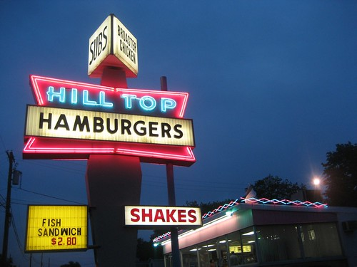 Hill Top Hamburgers, Sanatoga PA
