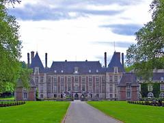 2005.05 ILE DE FRANCE - Château de Courances