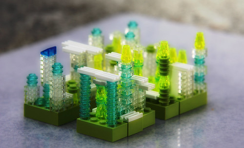 Emerald City - Lego | by Dan Zen